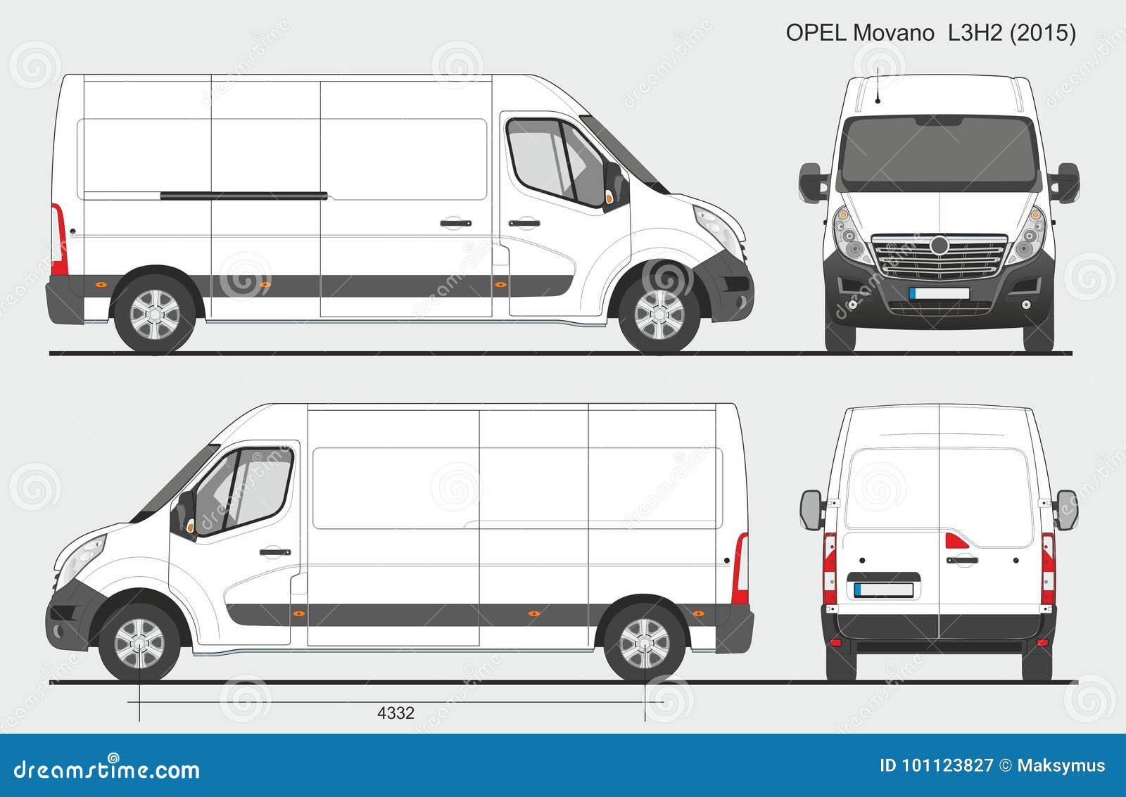 opel movano cargo van l3h2 2015 photographie ditorial illustration du commercial cargaison. Black Bedroom Furniture Sets. Home Design Ideas