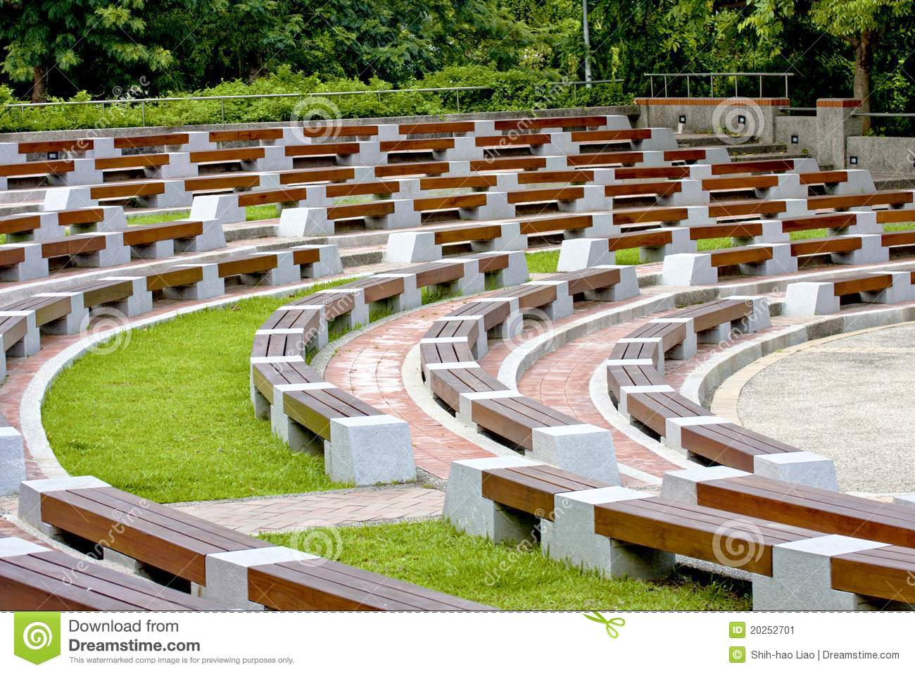 Open Air Auditorium Stock Image Image 20252701