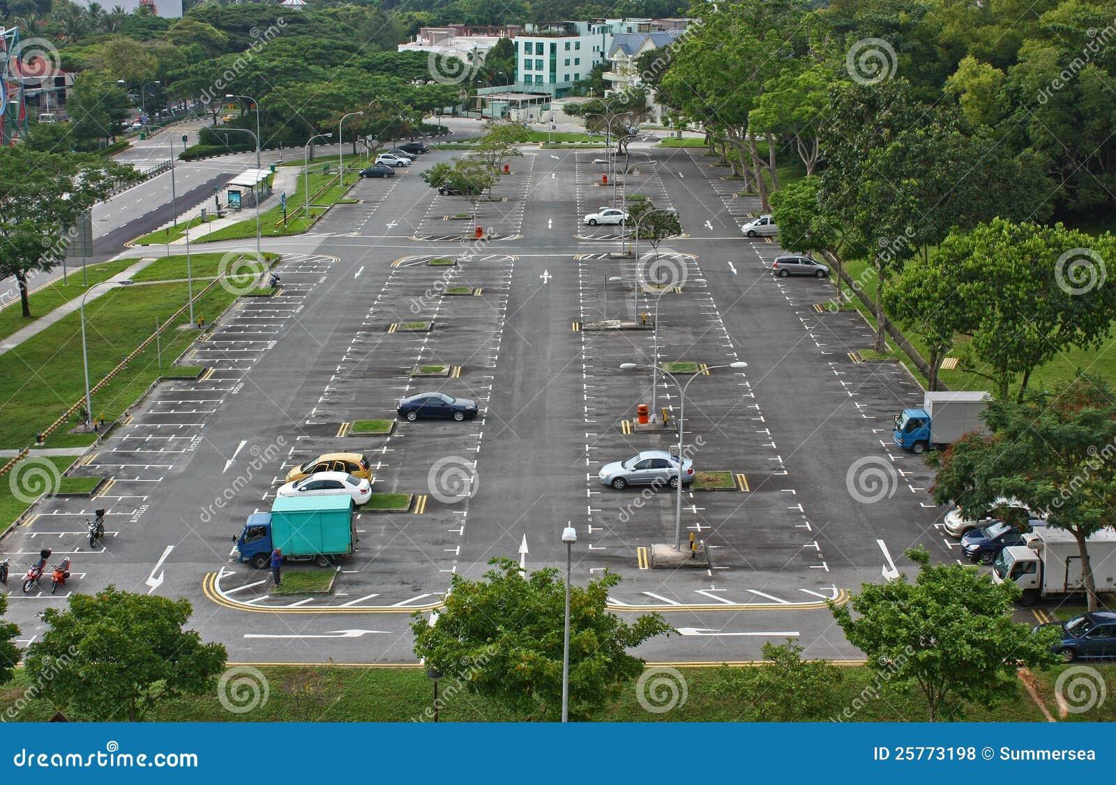 Open Car Park Opposite Downtown East
