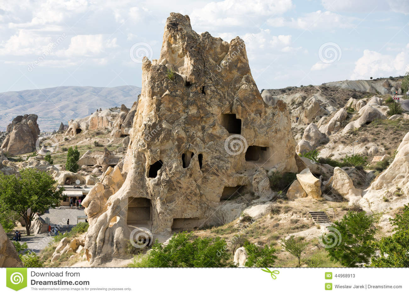 Open Air Museum In Goreme . Cappadocia, Stock Photo ...