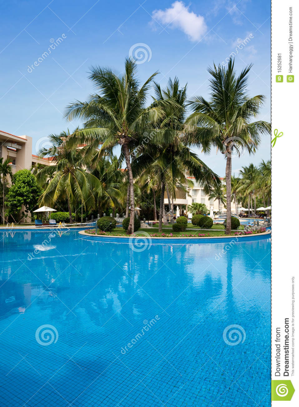 Open Swimming Pool Stock Photography 12915656