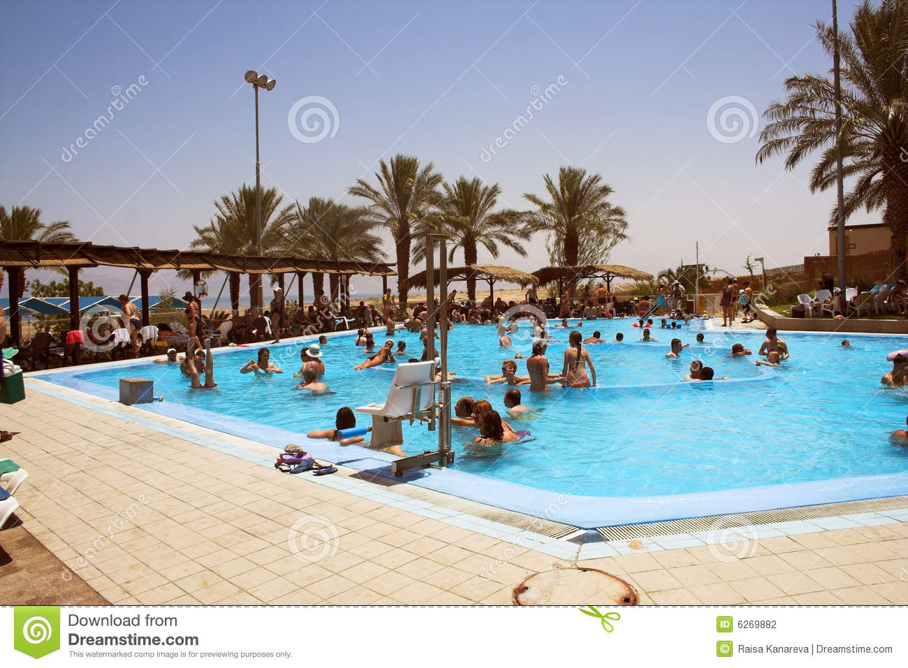 Open Air Swimming Pool Stock Photography Image 6269882
