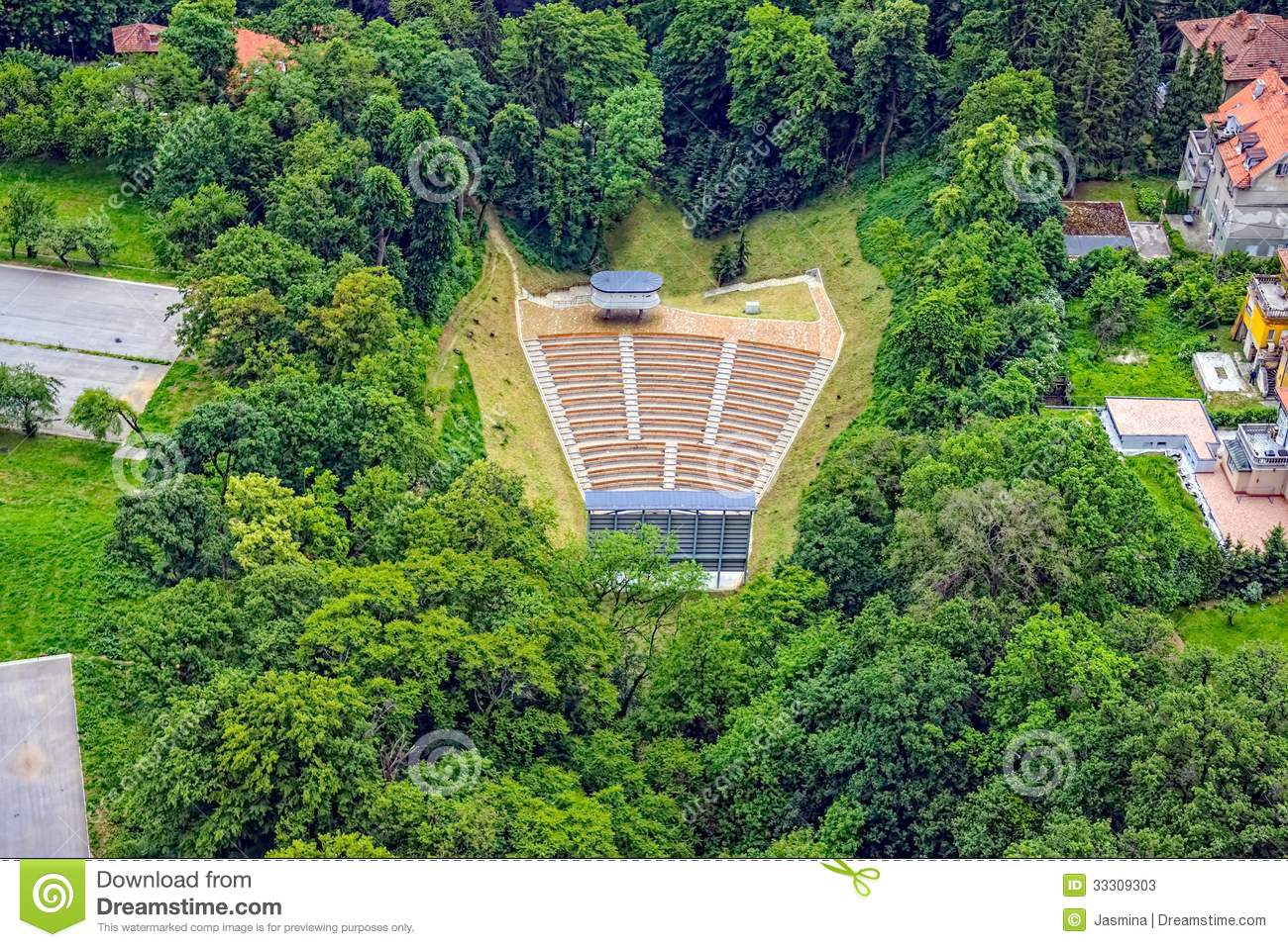 Open Air Theatre Stock Photos - Image: 33309303