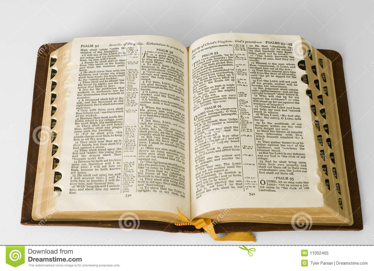 Vintage Leather Look Jeremiah Verse Bible Book Cover Large: Open Bible Stock Image. Image Of Bible, Christianity