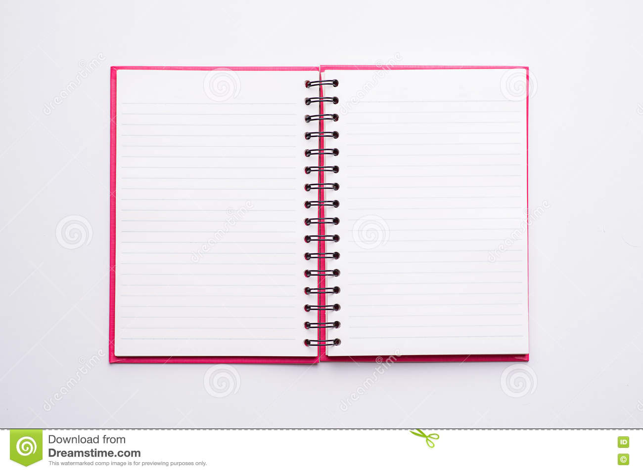 open blank page notebook stock photo image of notebook 79420474