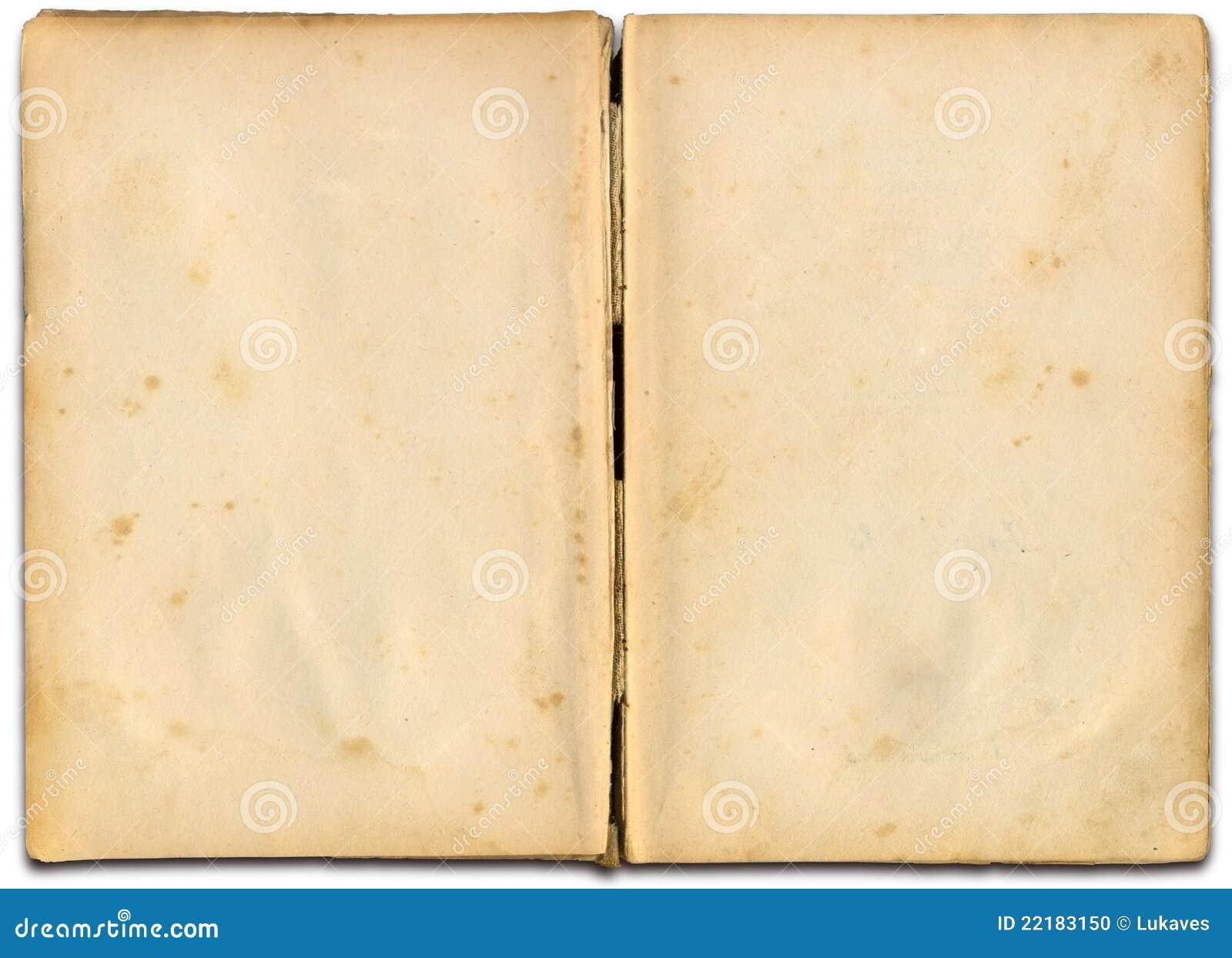open book stock photo image of aged jaundiced border 22183150