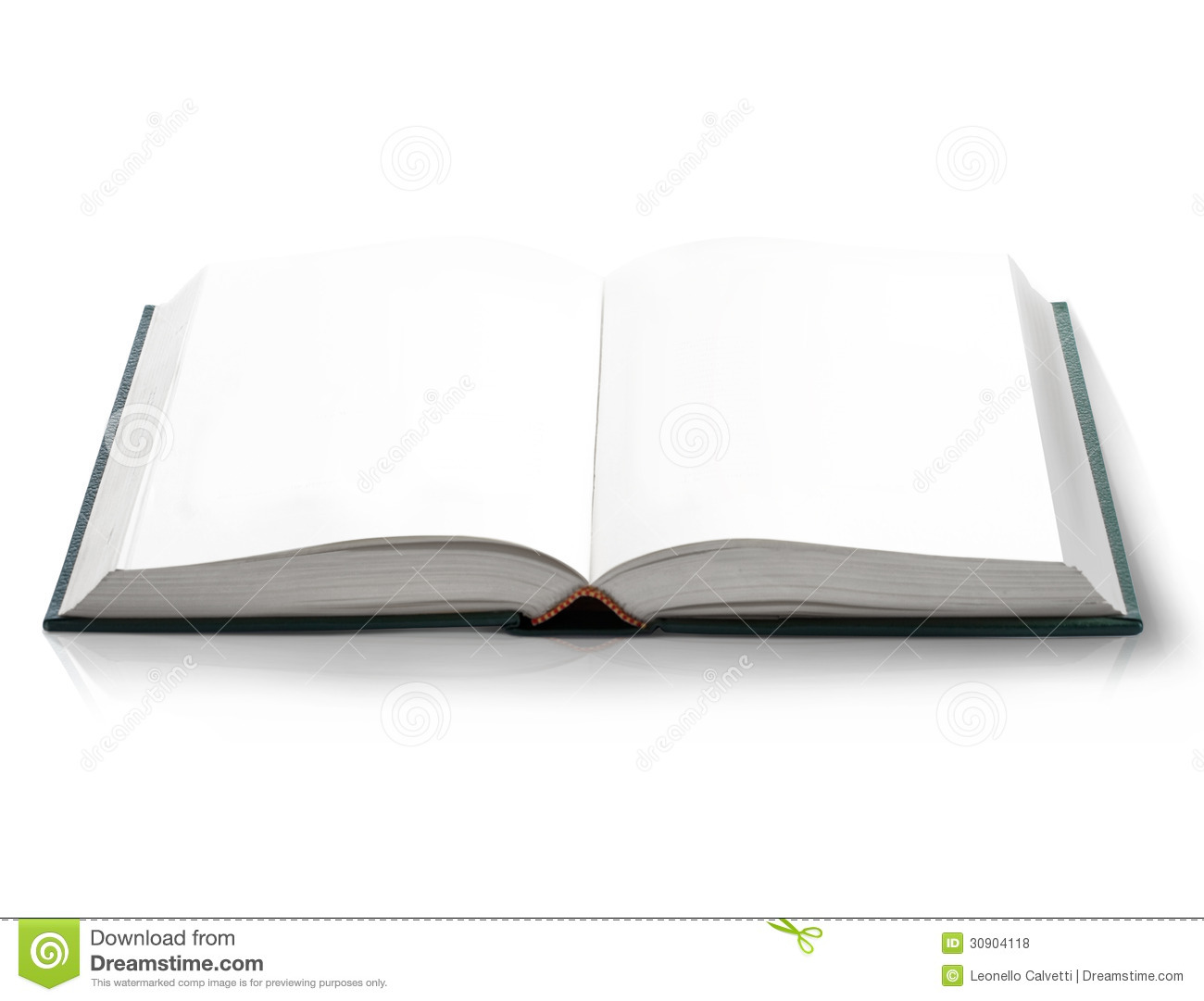 Blank Book Cover Graphic : Open book with blank pages bird s eye view royalty free