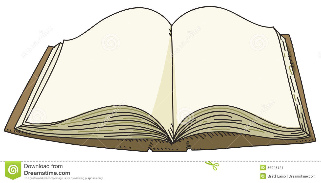 Open Book Cartoon Images