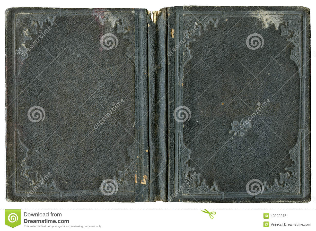 Royalty Free Stock Image  Open book coverOpen Book Cover