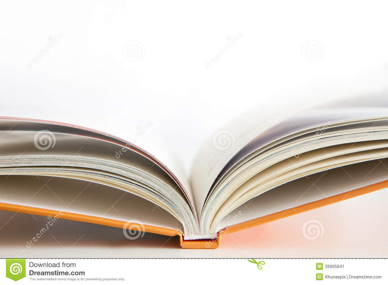 Stock Image  Open book cover with white backgroundOpen Book Cover