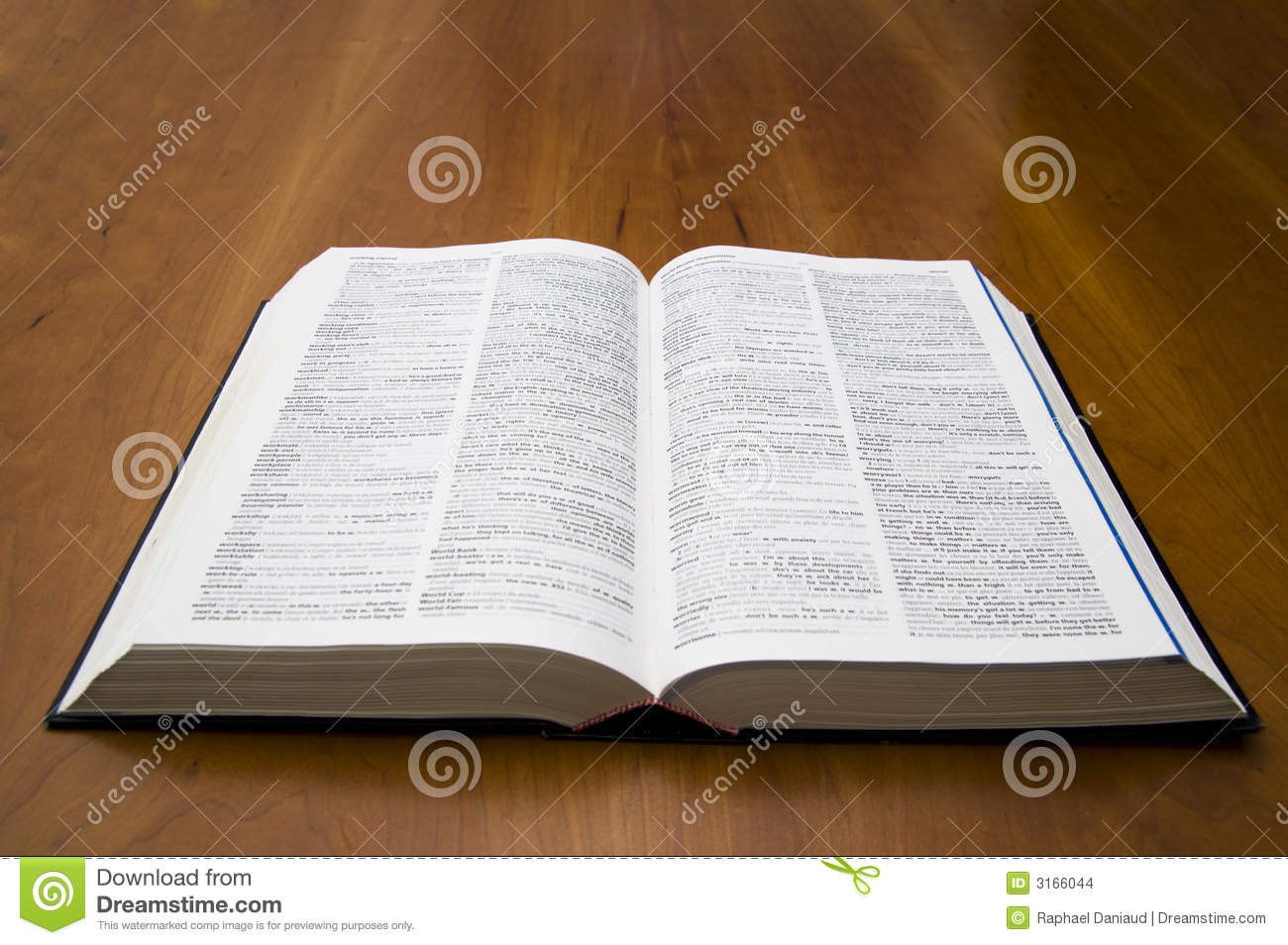 Open book dictionary stock images image 3166044 for Open dictionary