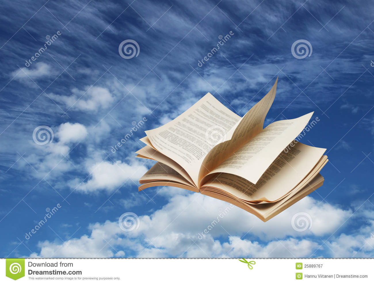Open Book Flying On Blue Sky Royalty Free Stock ... Z Table Chart