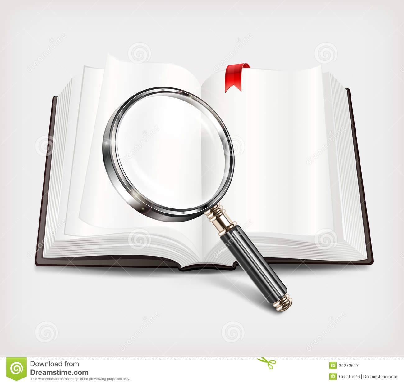 Free Images Book Magnifying Glass Illustrations