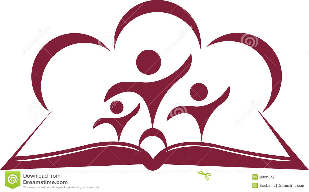 Open Book And Students Stock Photography - Image: 26031712