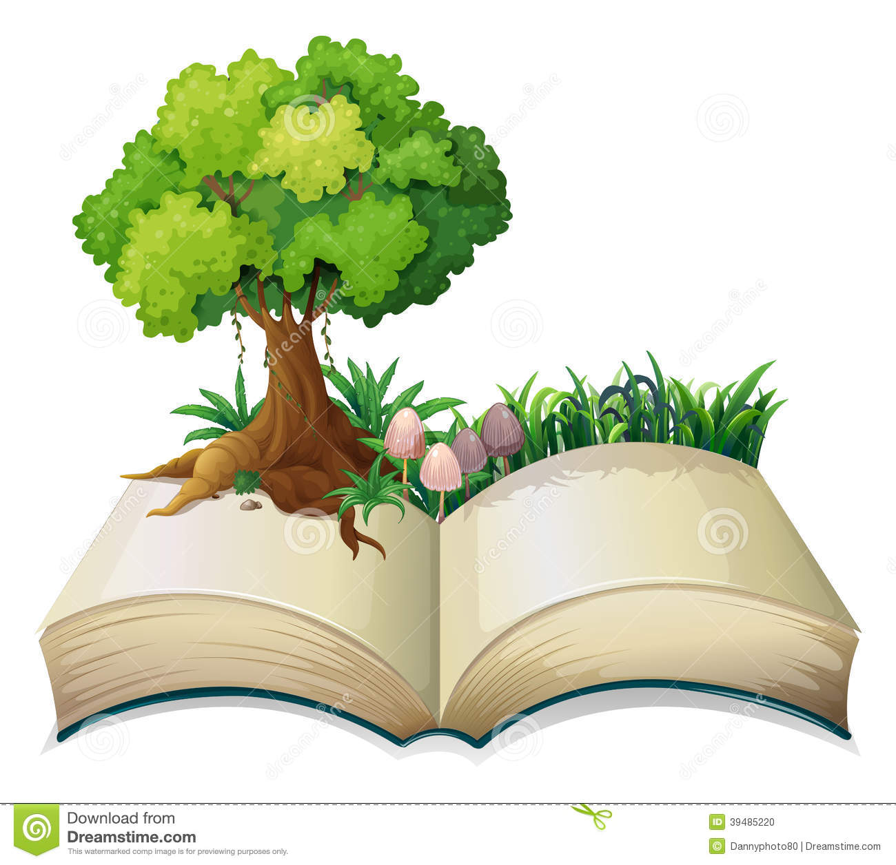 Open Storybook Clipart