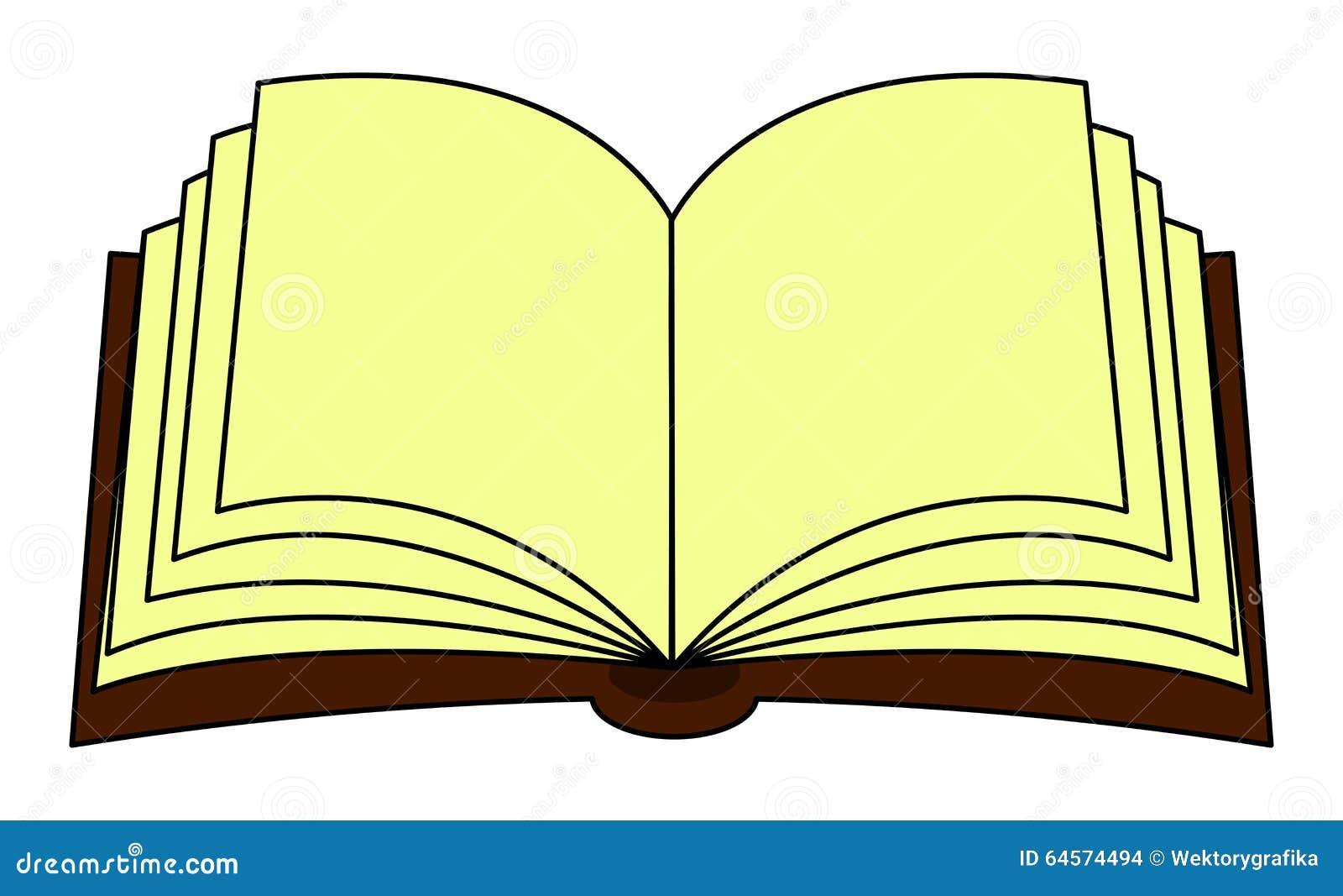 Open Book Clip Art Color Clipart Collection: Open Book Vector Clipart, Symbol, Icon Design