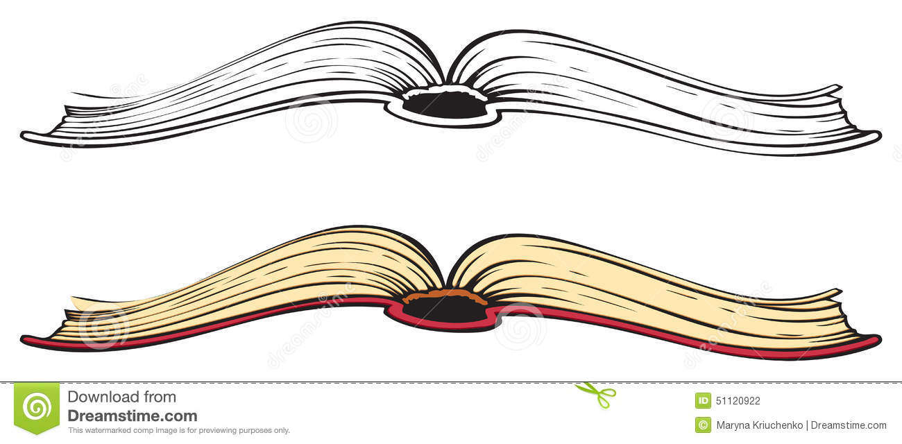 Notebook And Pen Sketch Stock Vector Art More Images Of: Open Book. Vector Sketch Stock Vector. Image Of Bookstore