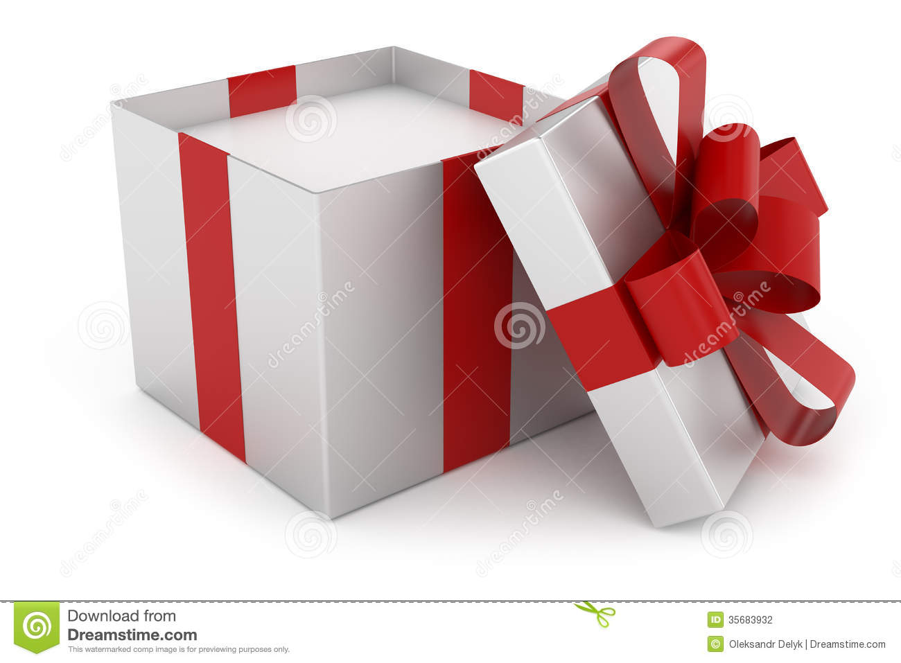 open cap of silver gift box stock illustration christmas present clip art png christmas presents clip art images