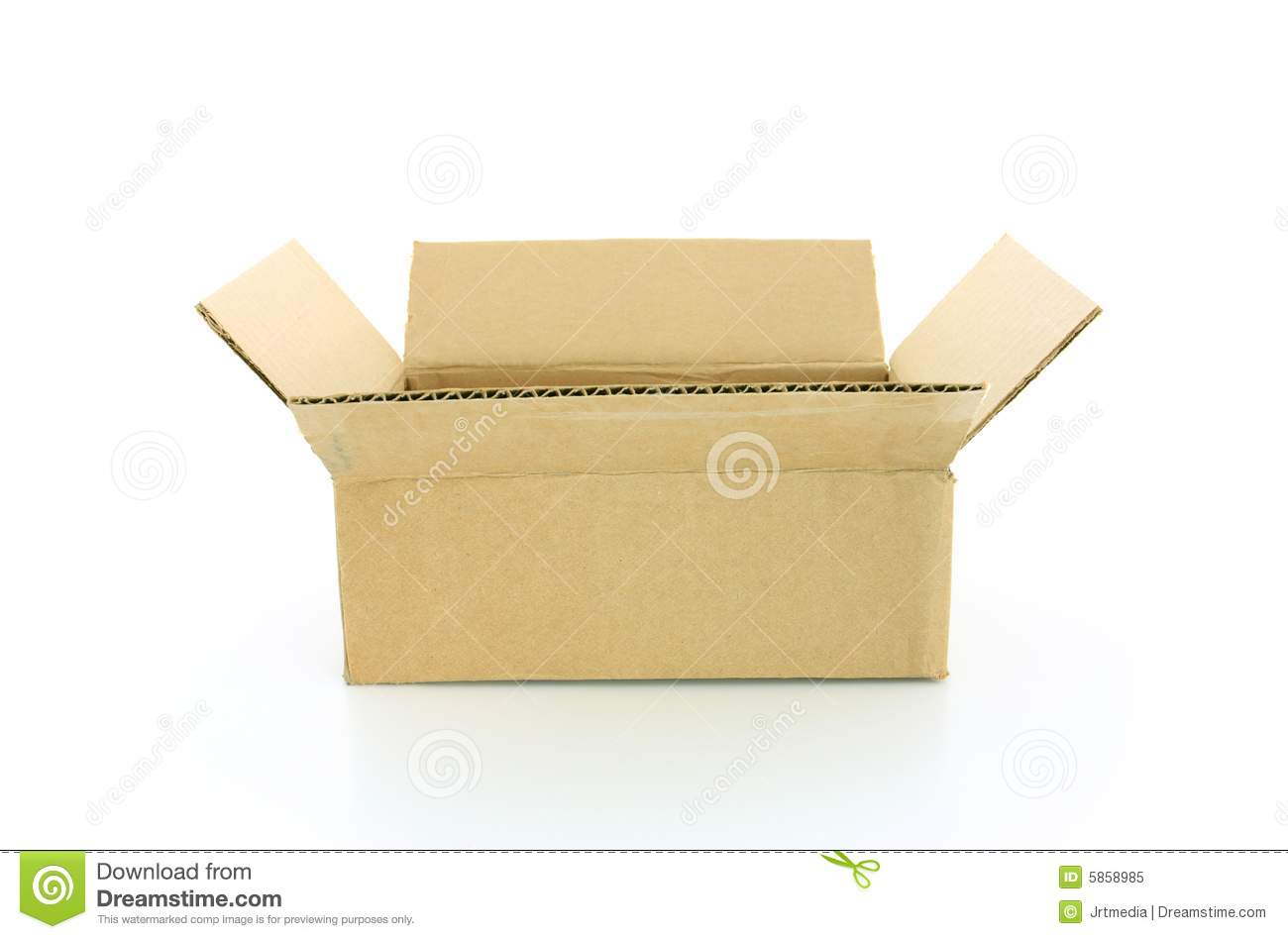 Open Cardboard Box Stock Photos, Royalty-Free Images & Vectors ...