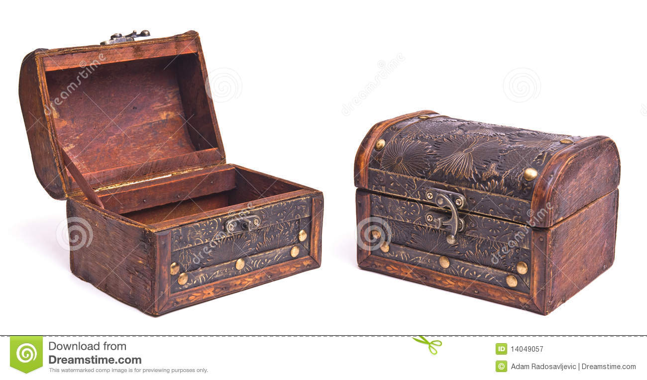 Open And Close Old Box Royalty Free Stock Photography ...