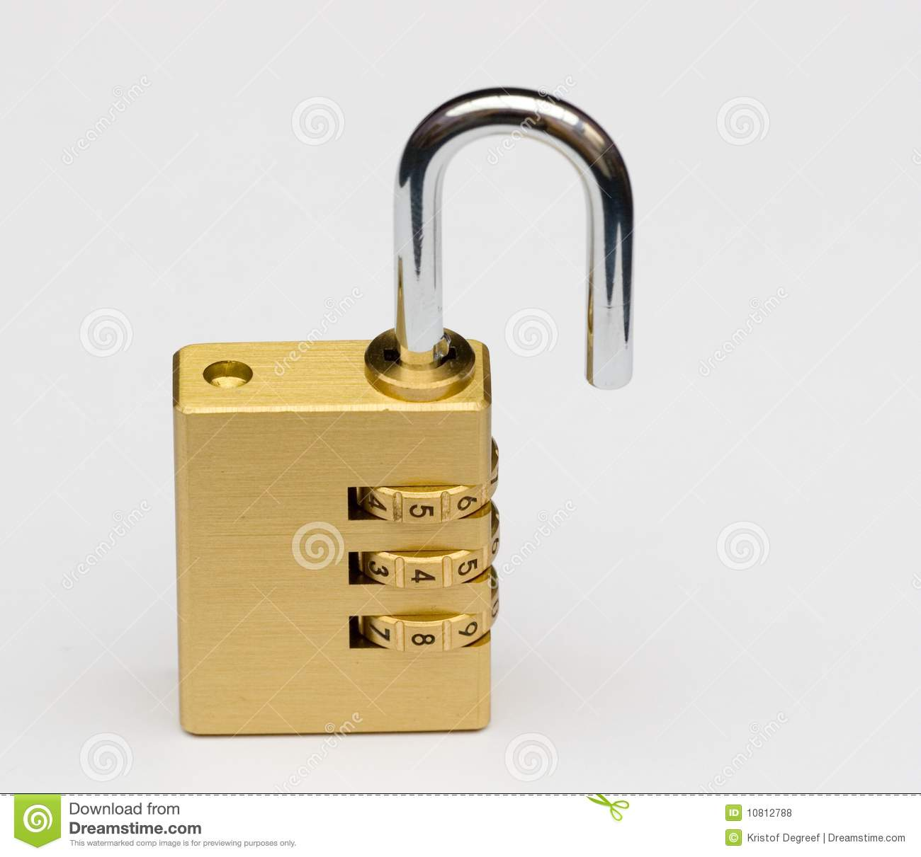 Unlock combination lock