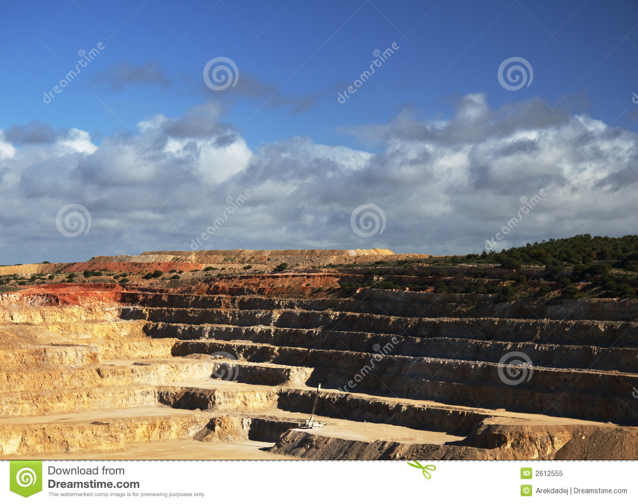 Open cut mine royalty free stock photo image 2612555 for Terraces opening times