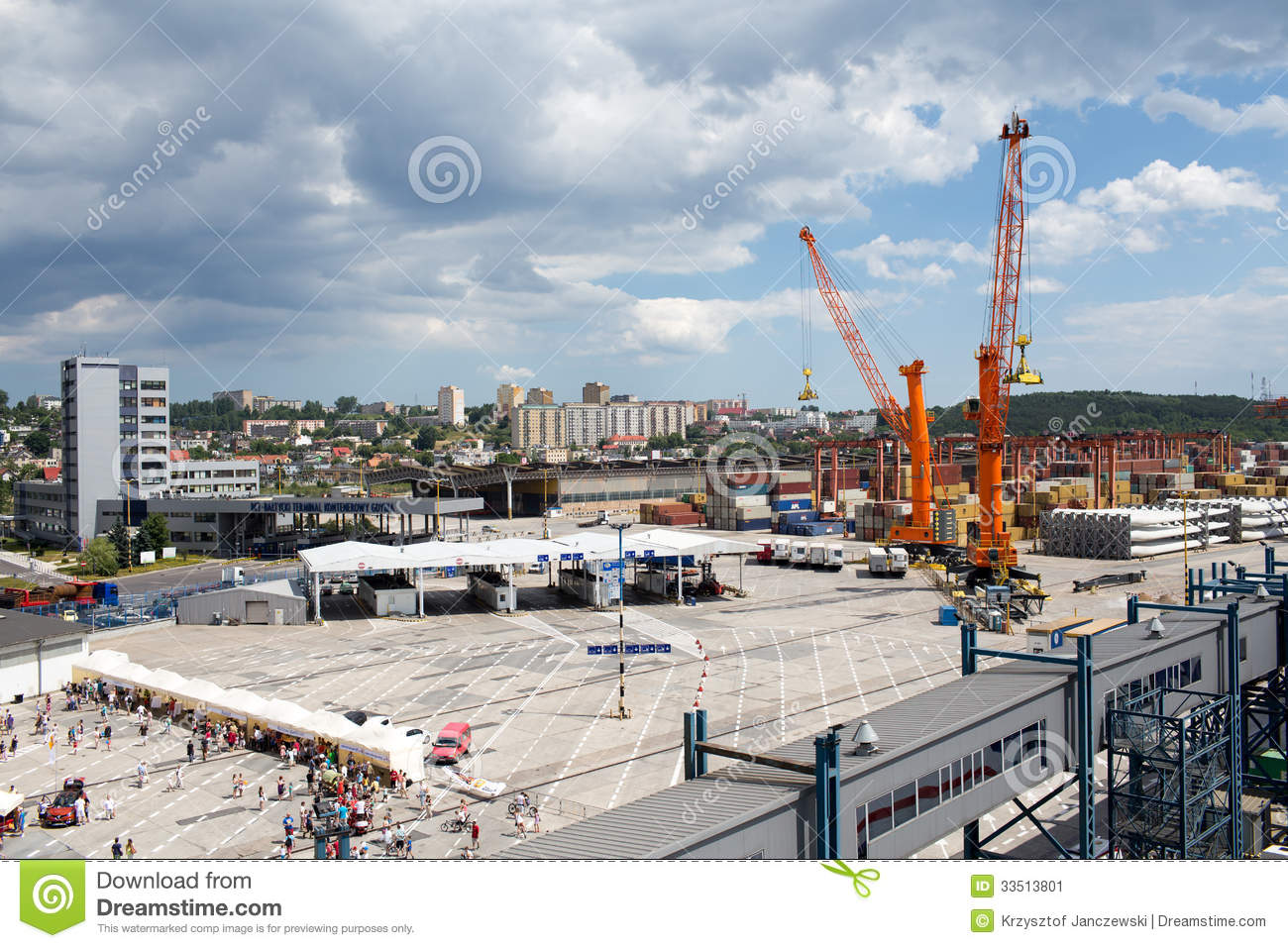 Gdynia Poland  City new picture : GDYNIA, POLAND JUNE 22 Open day on the ferry Stena Spirit, ship ...