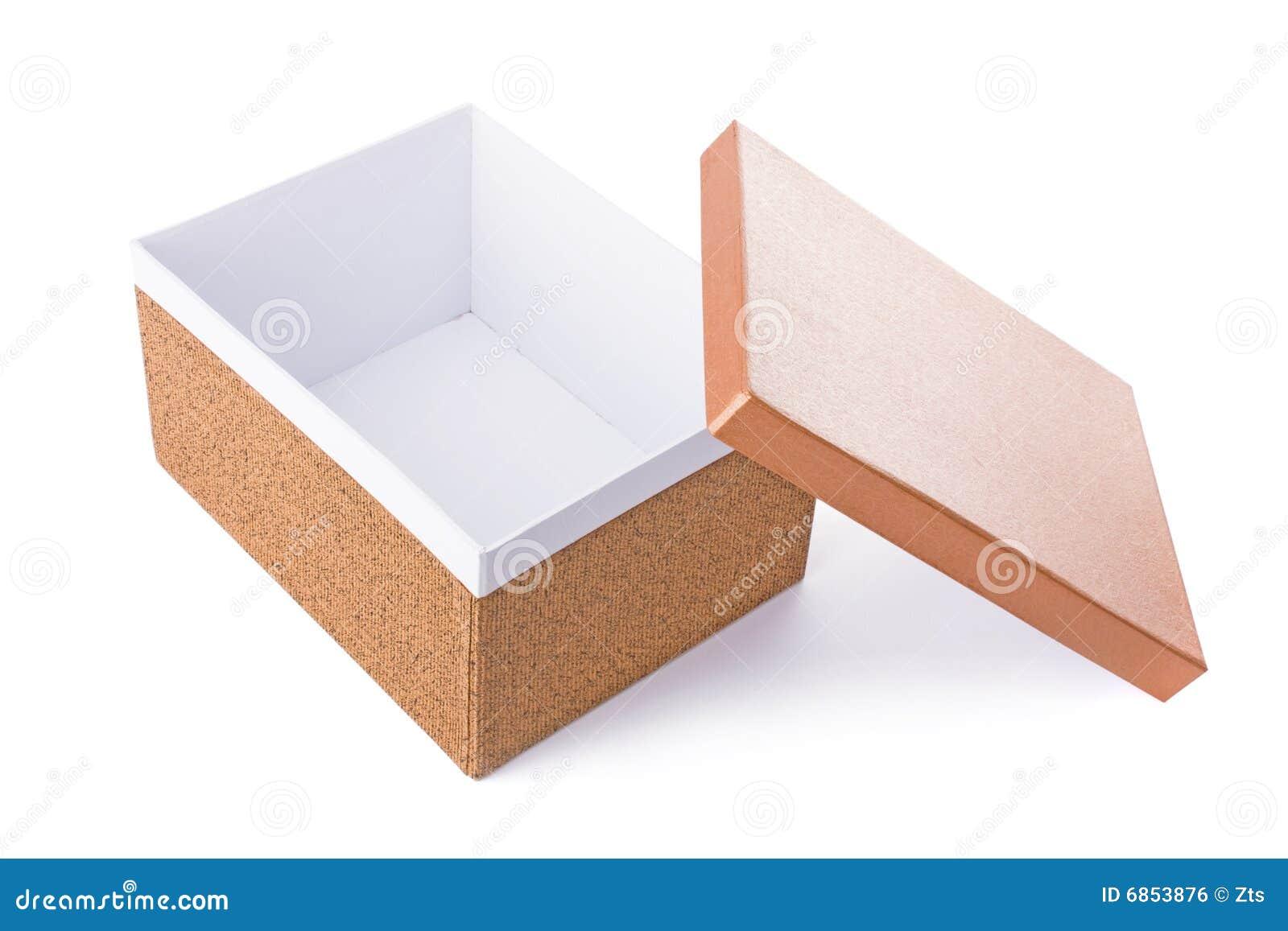 Decorative Box Plans Free : Open decorative box royalty free stock image