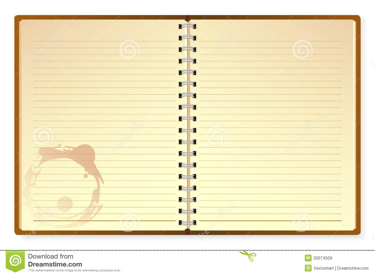 Open Diary Royalty Free Stock Images Image 20074509