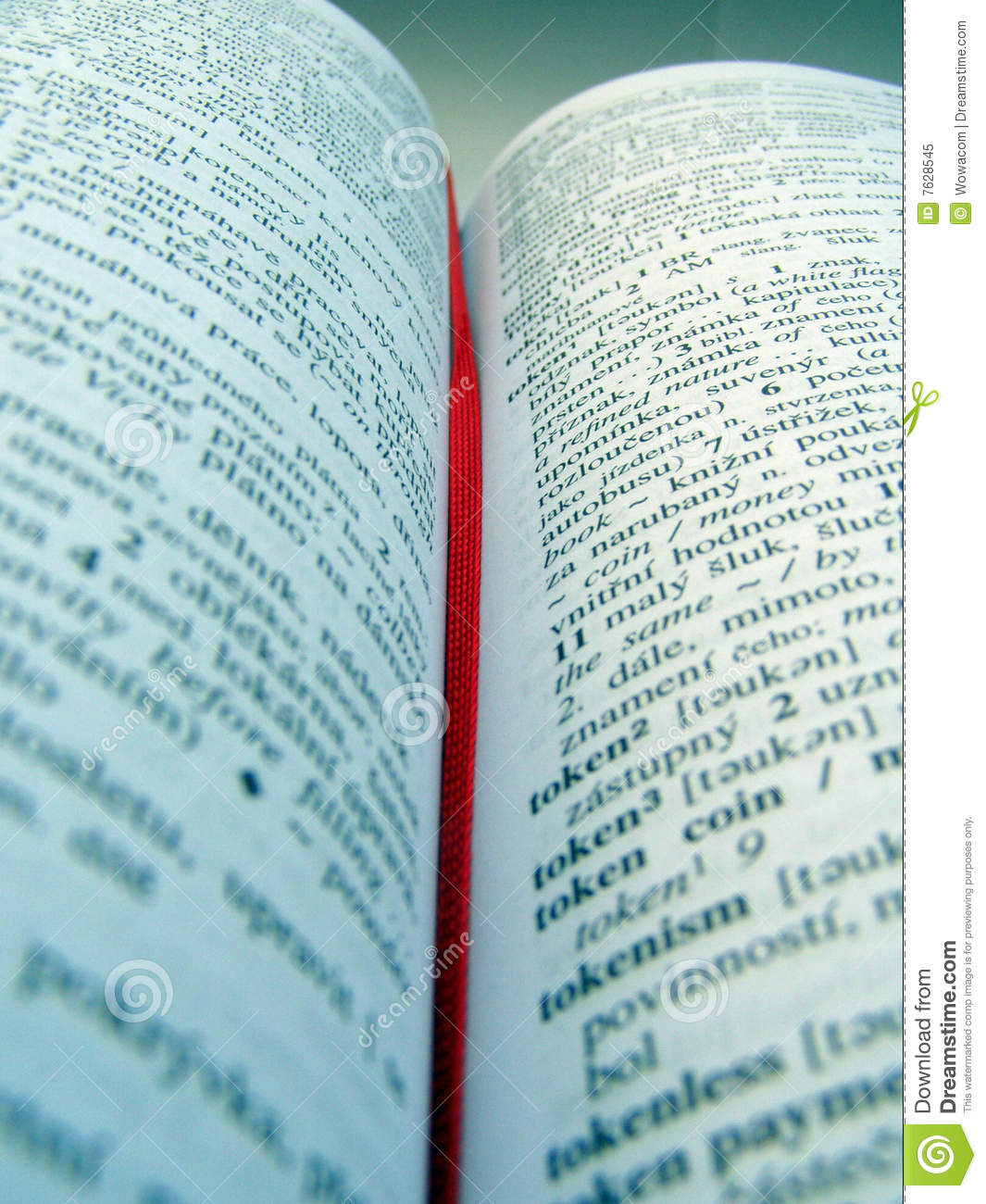 Open dictionary royalty free stock photo image 7628545 for Open dictionary