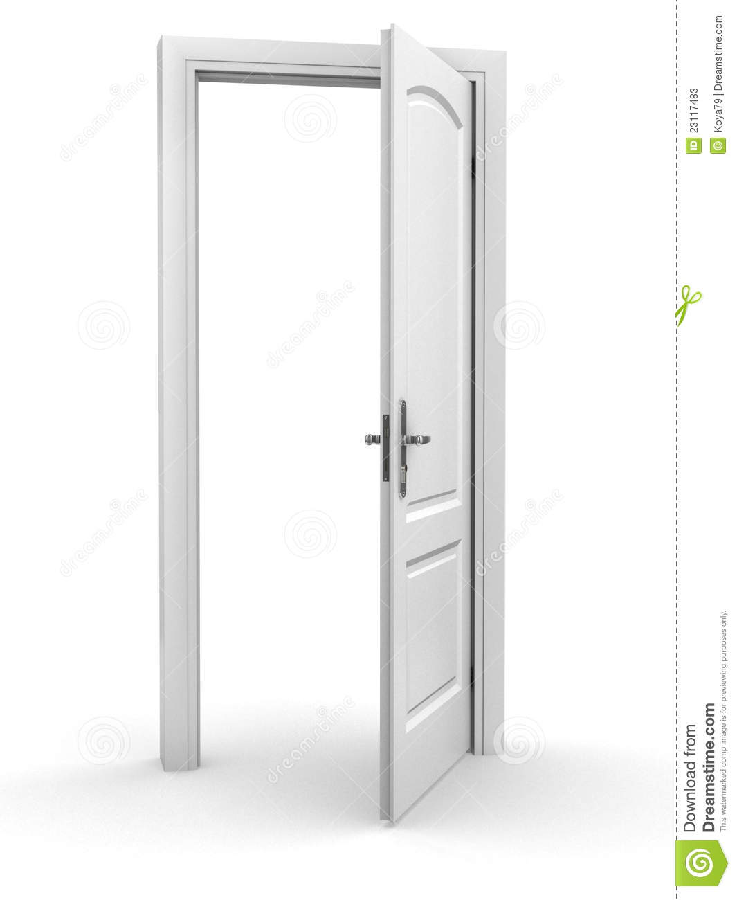 Open Door Stock Photos - Image: 23117483