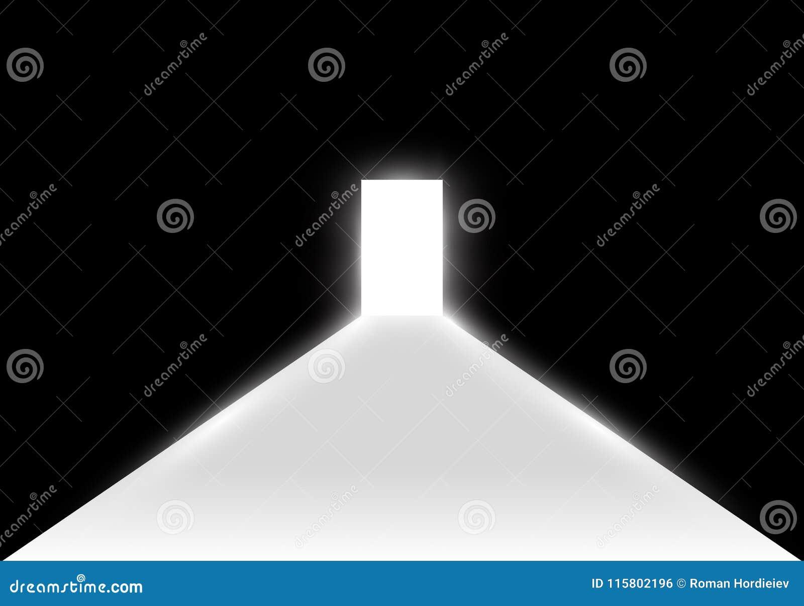 Open door dark Vintage Open The Door In Dark Room With Light Passing Through It Light Enters Through The Gap On Transparent Background Dreamstimecom Open The Door In Dark Room With Light Passing Through It Light