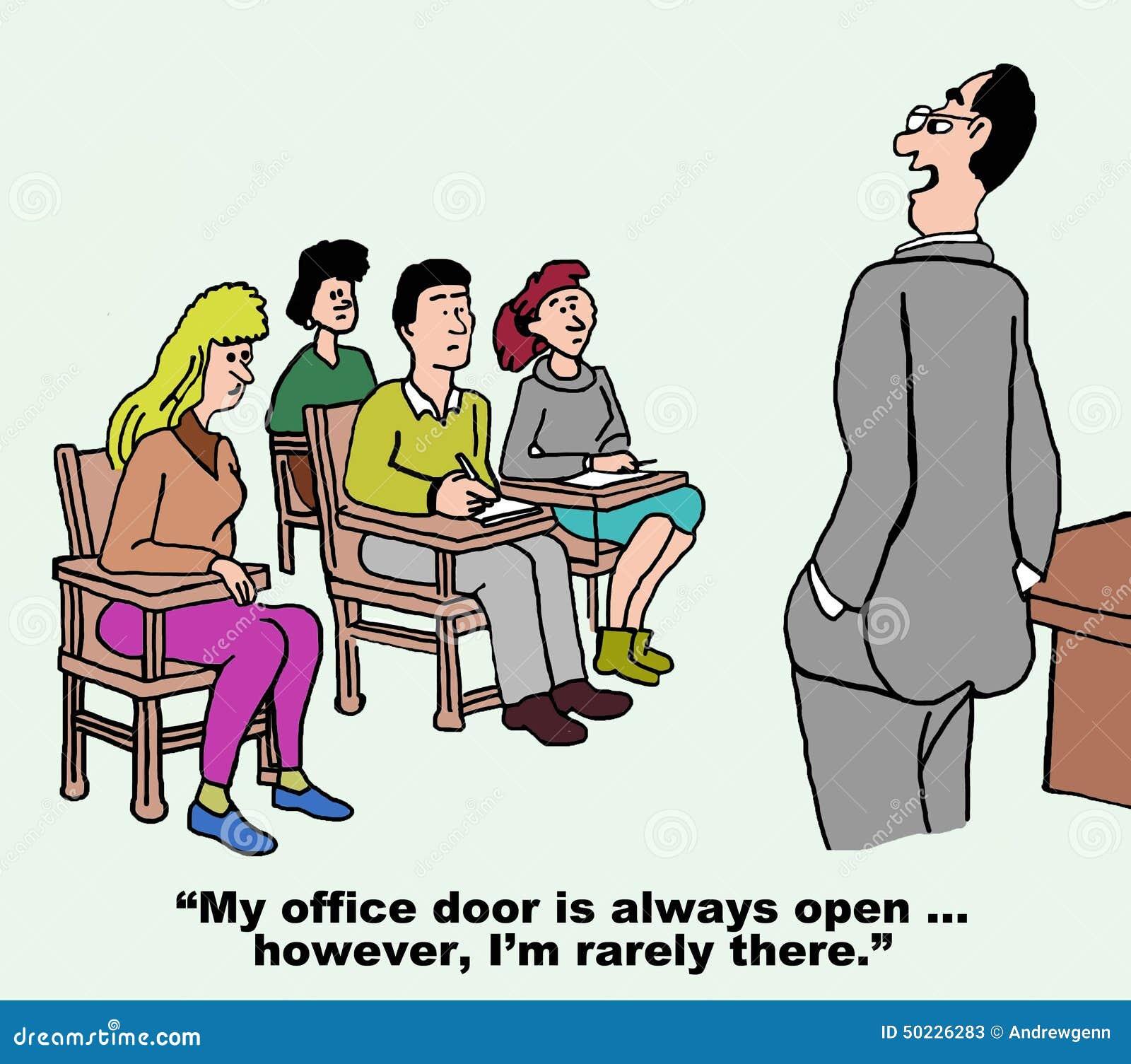 Open Door Policy