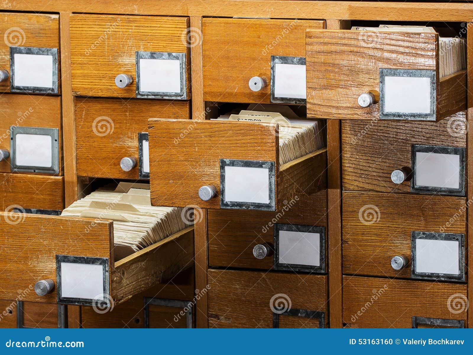 Open dozen in het oude archief