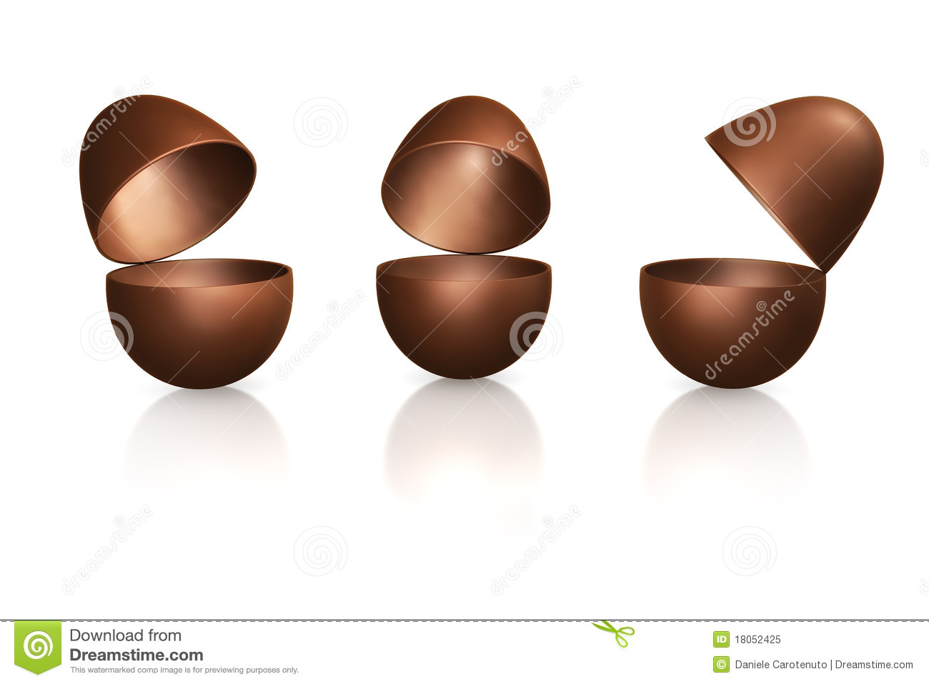 Open Easter Eggs Royalty Free Stock Photo   Image  18052425 iRRyZBgB