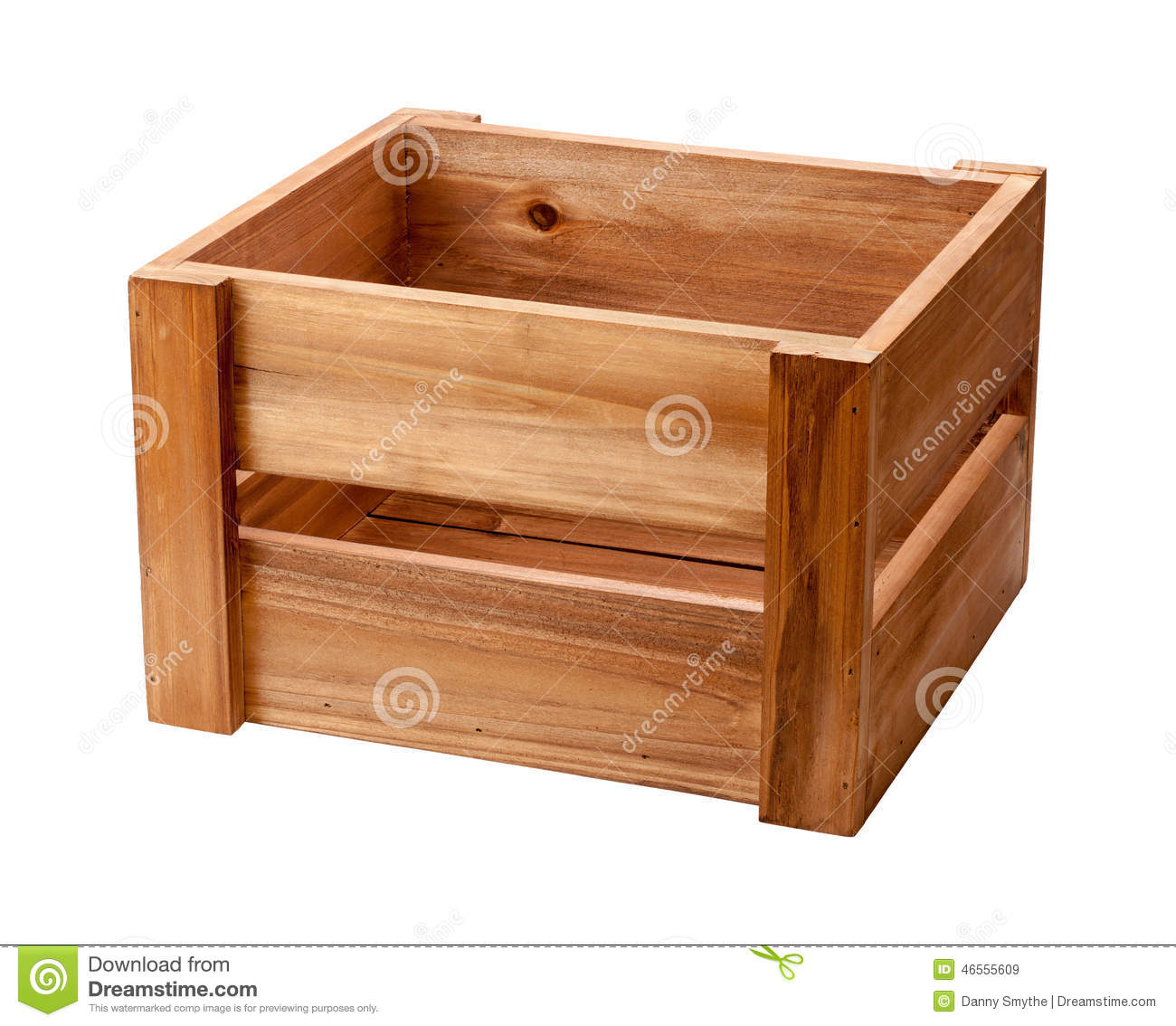 Open ended wooden crate stock photo image 46555609 for Uses for old wooden crates