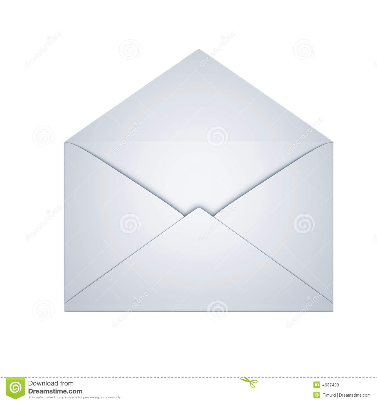 Open Envelope Royalty Free Stock Images - Image: 4637499