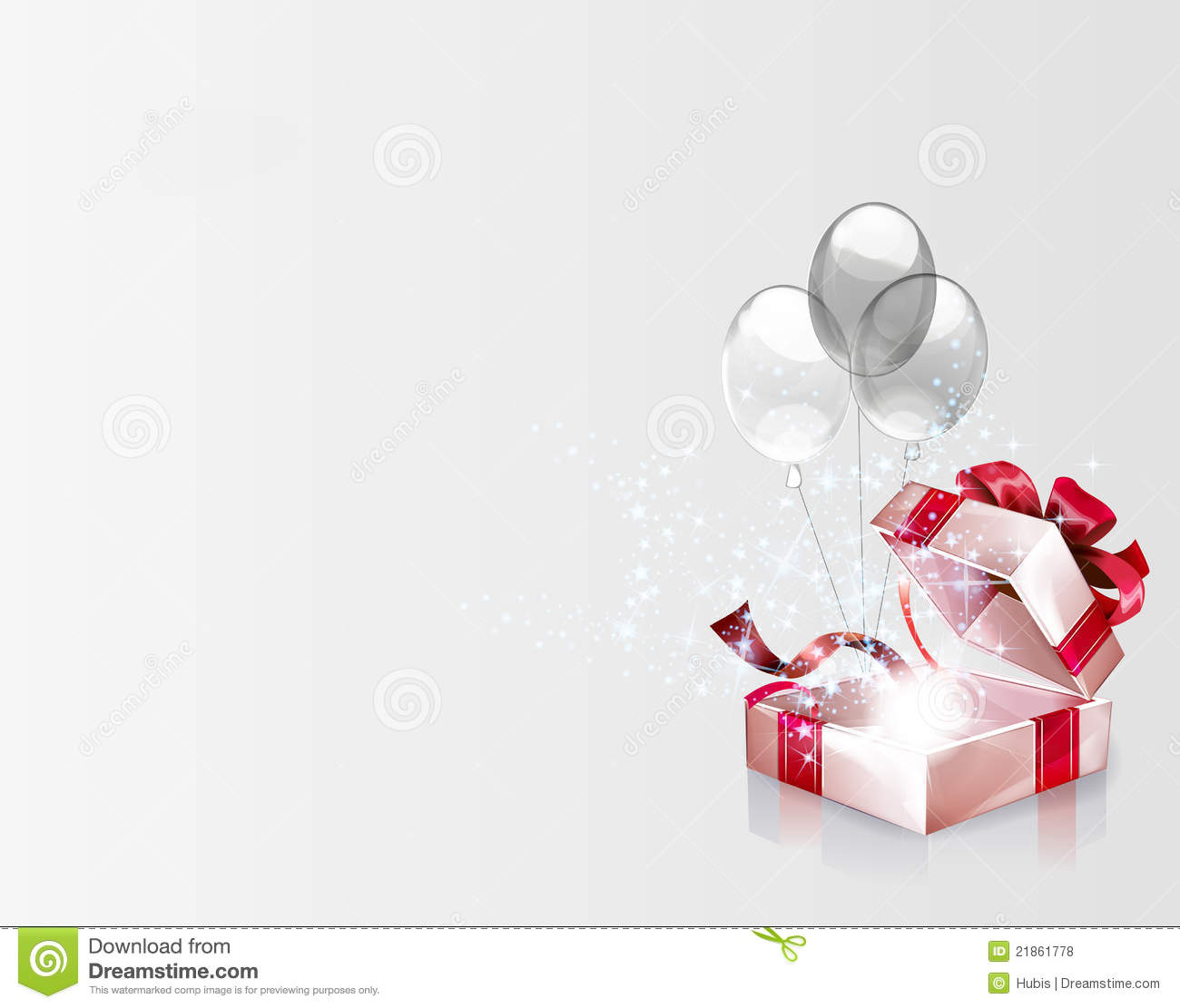 Christmas Gift Background: Open Explore Gift Background Royalty Free Stock Photos