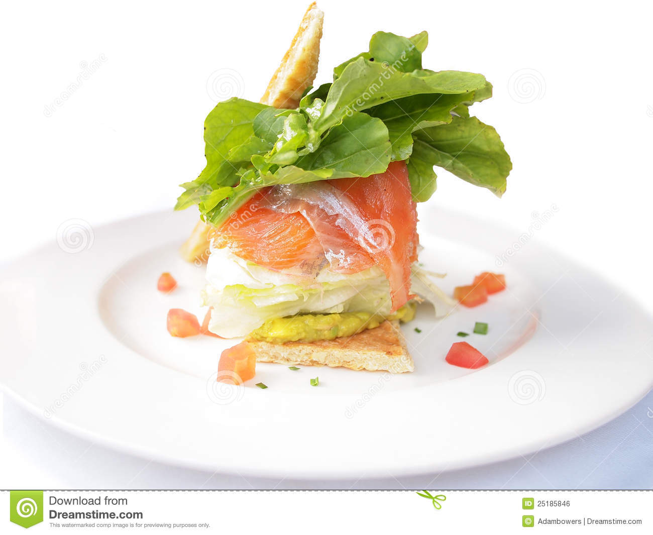 Open-Face Smoked Salmon And Avocado Sandwiches Recipe ...