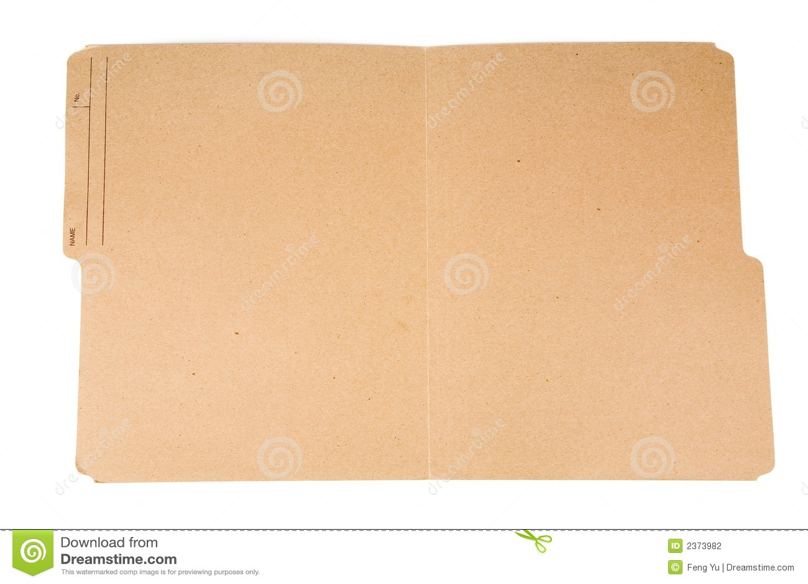 Open File Folder Stock Photography - Image: 2373982