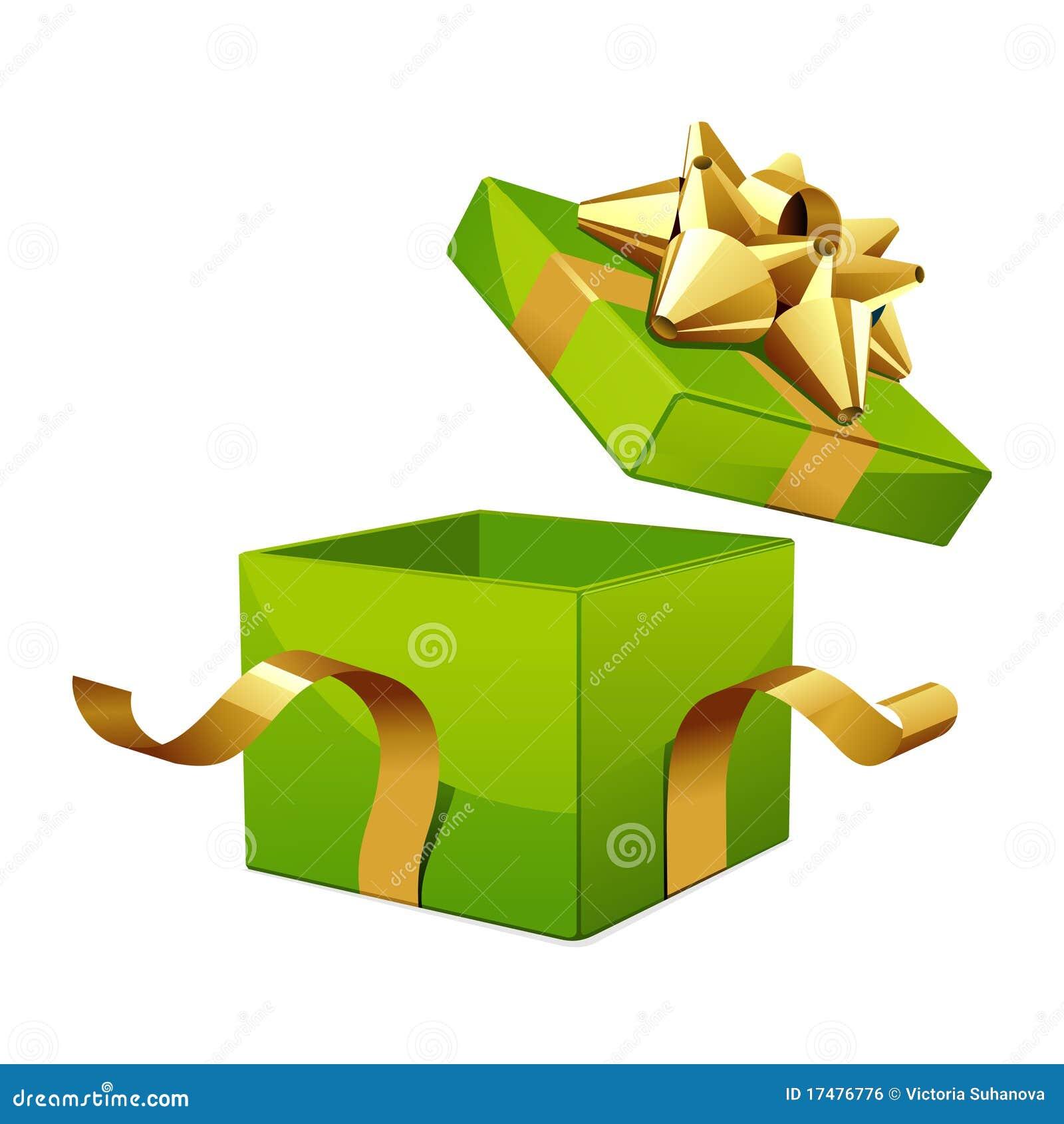 Christmas Open Gift Box - Download Free Vectors, Clipart Graphics & Vector  Art