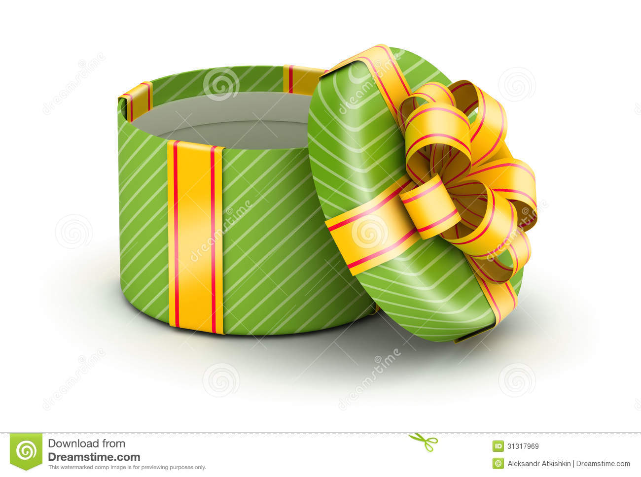 Open green gift box stock image image of unwrap shopping 31317969 open green gift box negle Image collections