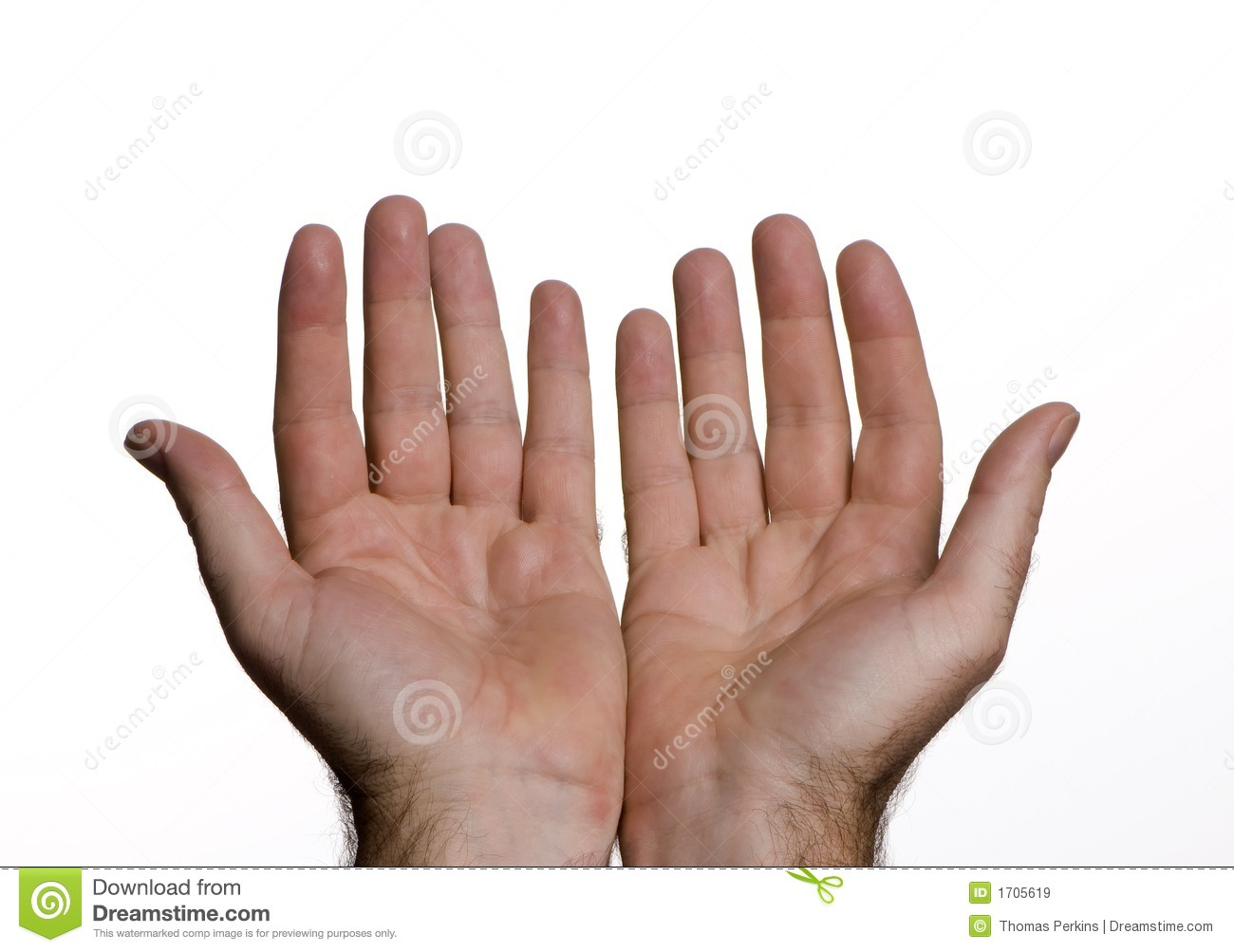 Open Hands Royalty Free Stock Images - Image: 1705619