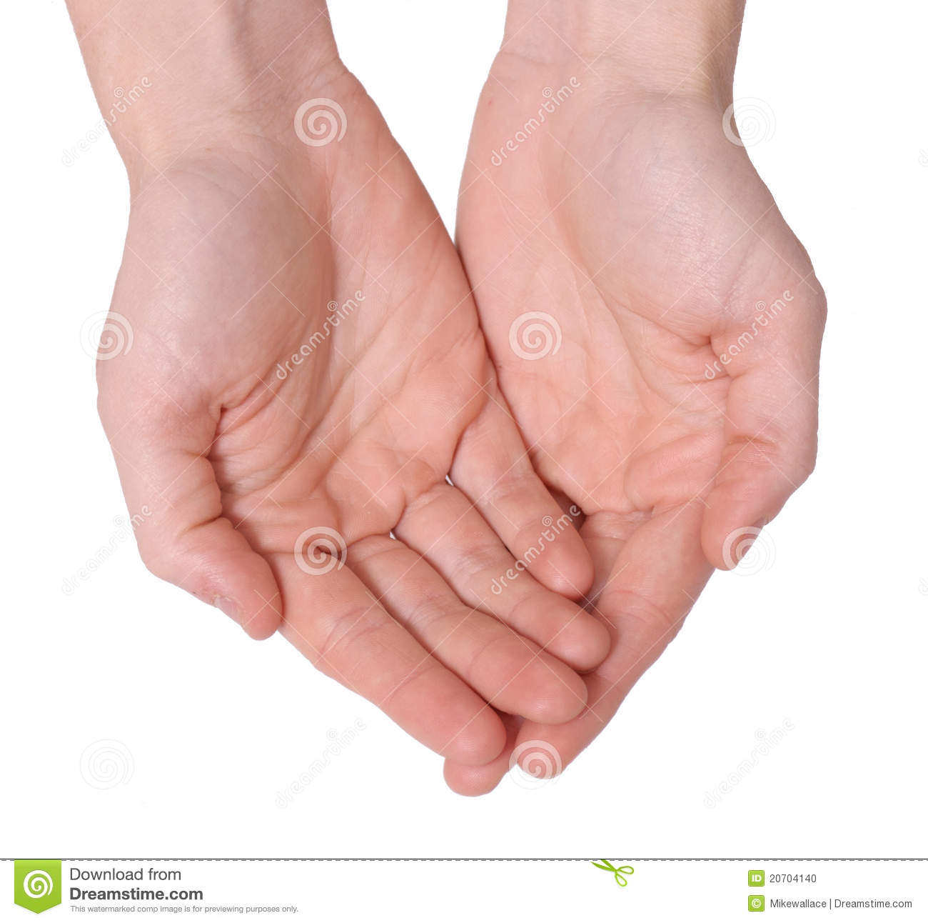 Open Hands Stock Photo. Image Of Symbol, Human, Holding