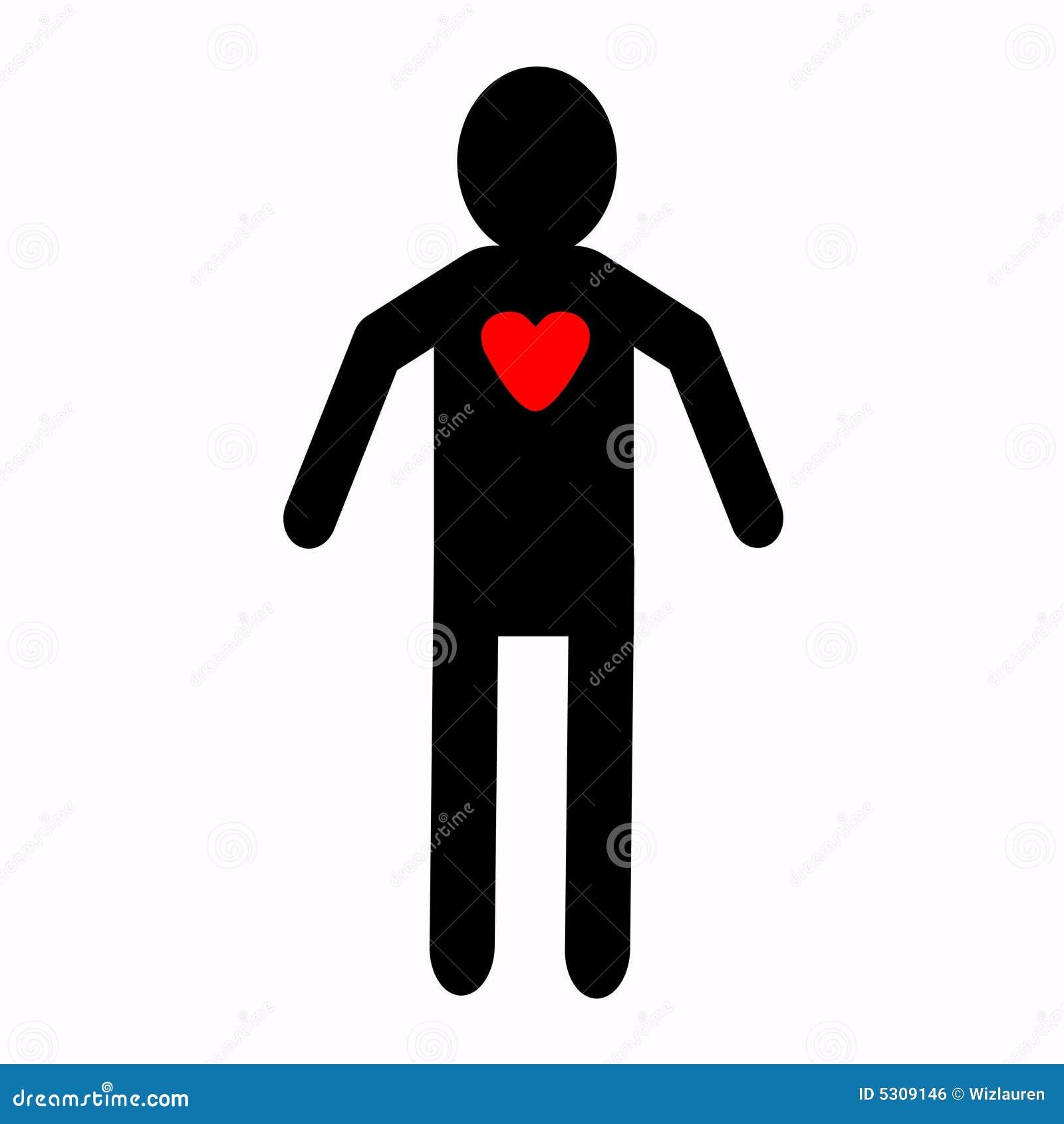 Open heart man stock illustration illustration of heart 5309146 open heart man buycottarizona Gallery