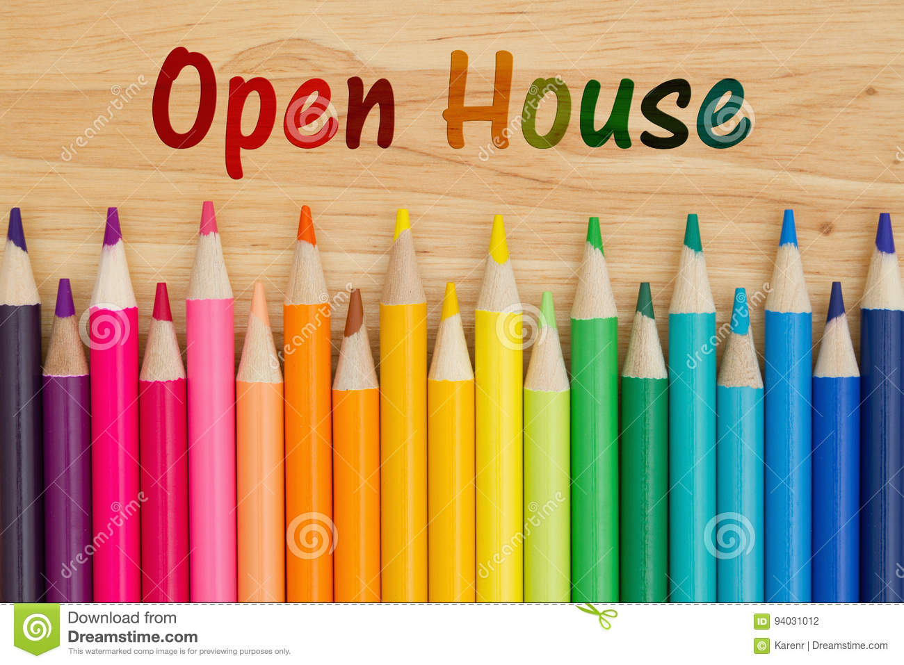 Open House message
