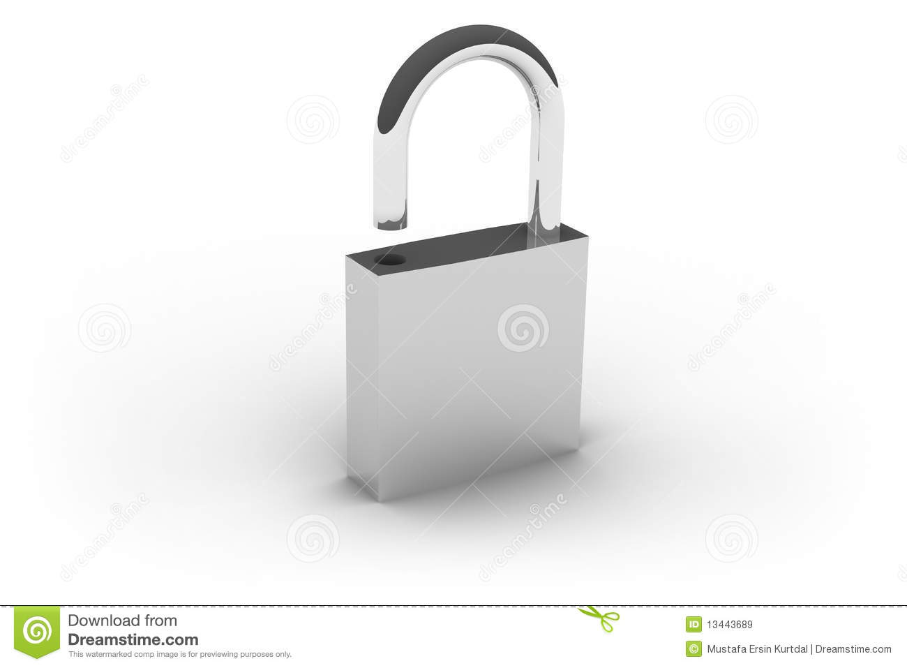 Open lock royalty free stock images image 13443689 - How to open chain lock ...