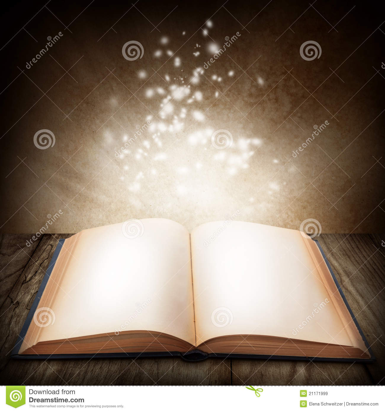 open magic book stock illustration  image of read  open