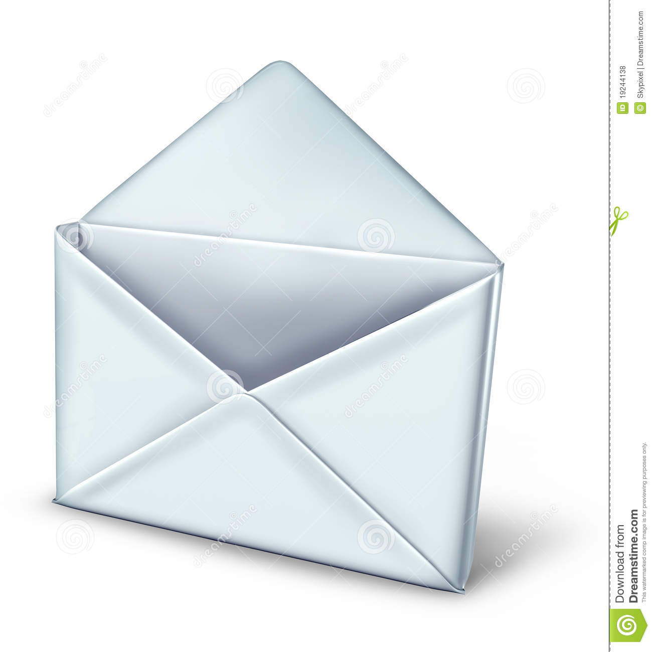 Open Mail Royalty Free Stock Photos - Image: 19244138