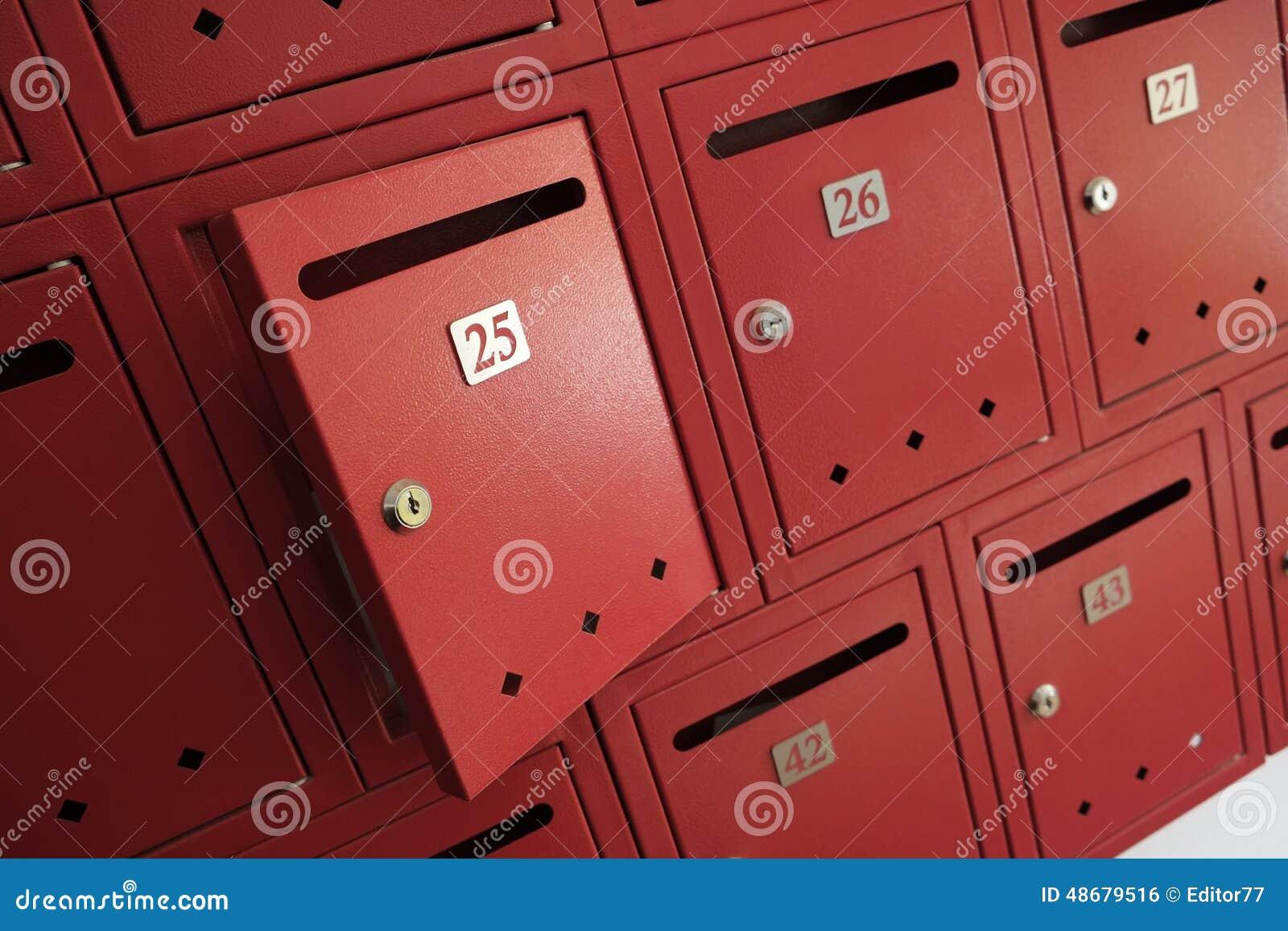 Open Mailbox Stock Photo Image 48679516